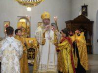 В канун празднования Дня памяти Равноап. вел. кн. Владимира, во св. Крещении Василия.