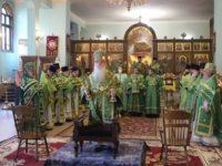 Богослужение в день тезоименитства Митрополита Волгоградского и Камышинского Германа.