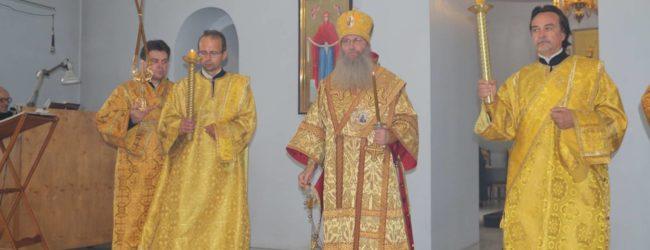 Служение епископа Елисея в канун 6-й недели по пятидесятнице.