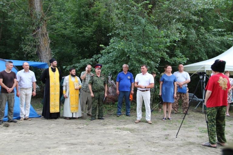 Открытие Х семинара русских боевых искусств «Золотой щит – казачий Спас»