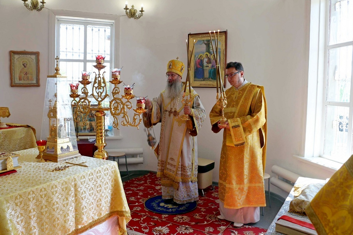 В День памяти св. равноап. Марии Магдалины.