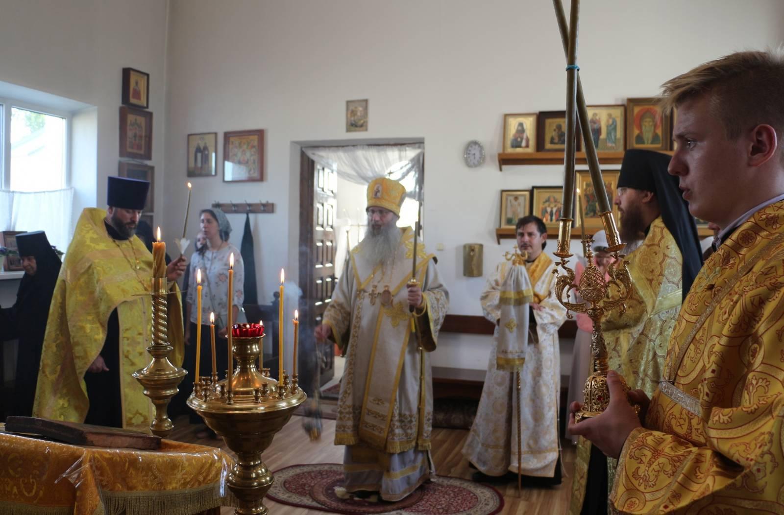 Служение епископа Елисея в канун Дня памяти прор. Илий.