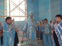 Вканун празднования Успения Пресвятой Богородицы.
