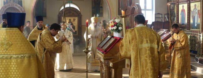 В канун 10-й недели по пятидесятнице, Почаевской иконы Божией Матери