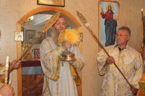 в Предпразнство Успения Пресвятой Богородицы, прп. Феодосия Печерского