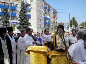 Молебен перед началом учебного года Урюпинск
