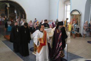 Служение епископа Елисея в 13-ю неделю по пятидесятнице