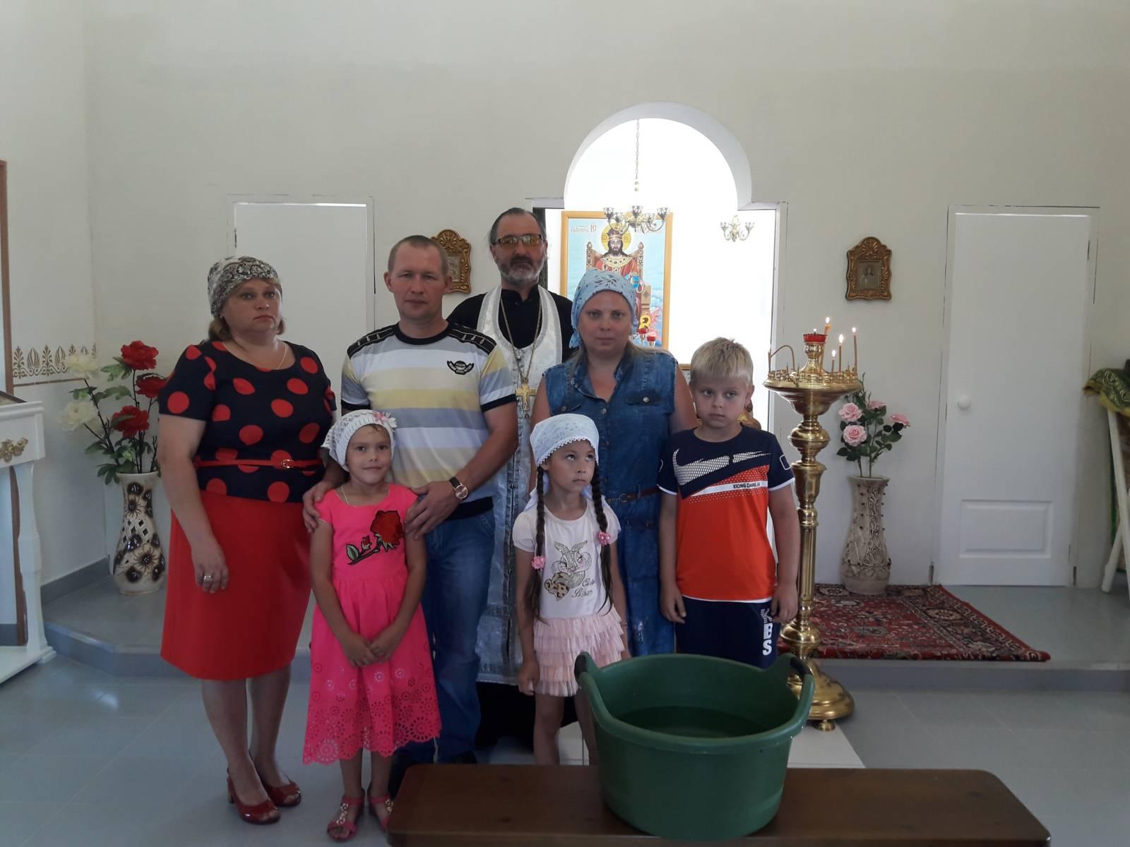 Религиозная жизнь в хуторе Первомайском.