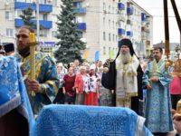Благодарственный молебен по случаю 400-летия города Урюпинска.