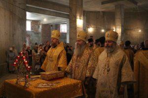 Божественная литургия в День памяти святого благоверного князя Александра Невского