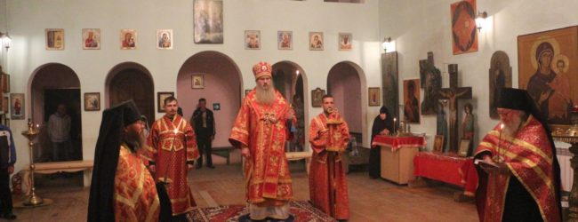 Канун дня празднования Усекновения Главы Иоанна Предтечи.
