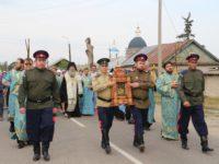 Крестный ход и благодарственный молебен в честь 400-летия г. Урюпинска.