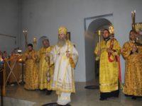 Служение епископа Елисея в канун 16-й недели по пятидесятнице.