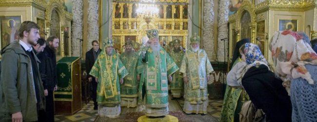 В День преставления преподобного Сергия, игумена Радонежского, всея России чудотворца.
