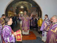 В День празднования Воздви́жения Честно́го и Животворящего Креста Господня.