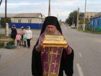 В Урюпинск прибыли мощи свт Феофана Затворника.