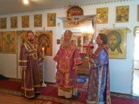 Попразднство Воздвижения Креста Господня, Прп. Евмения епископа Гортинского.