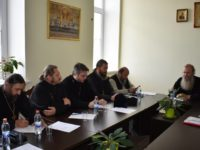 Расширенное заседание епархиального совета Урюпинской епархии.