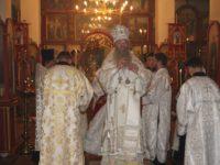 В канун празднования Собора Архистратига Михаила и прочих Небесных Сил бесплотных.