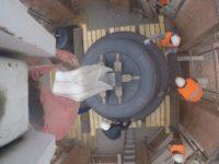 На звонницу Александро-Невского собора подняты новые колокола.