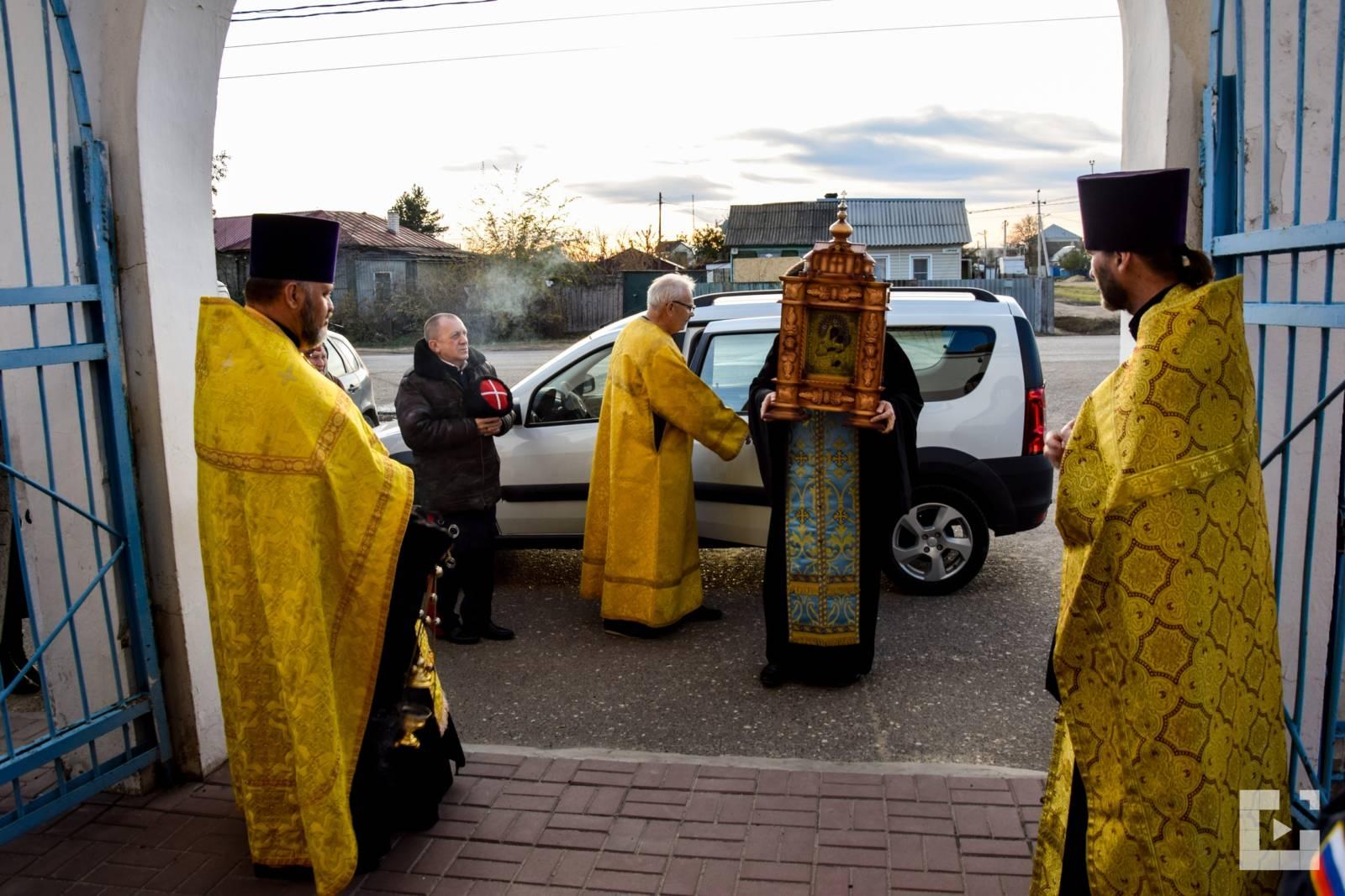 Чудотворная Урюпинская икона Божией Матери в г. Михайловка.