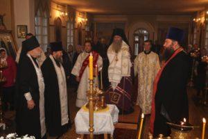 В канун празднования Собора Архистратига Михаила и прочих Небесных Сил бесплотных