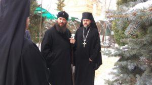 Митрополит Волгоградский и Камышинский Феодор прибыл в Волгоград