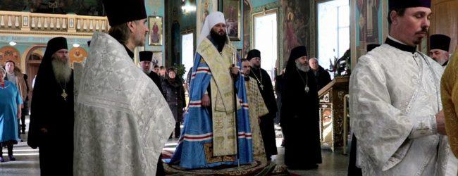Благодарственный молебен о прибытии митрополита Феодора.