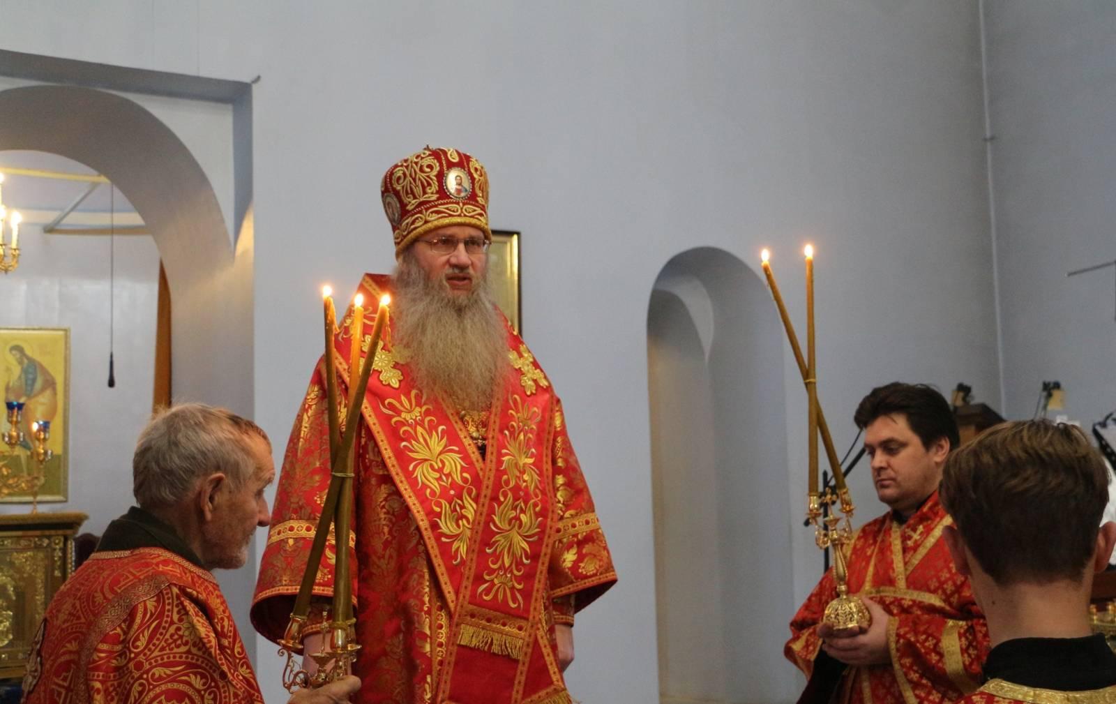 В День памяти Сшмч. Фаддея архиепископа Тверского и Кашинского.