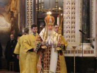 Епископ Елисей принял участие в Патриаршем богослужении в день открытия XXVII Международных Рождественских чтений.