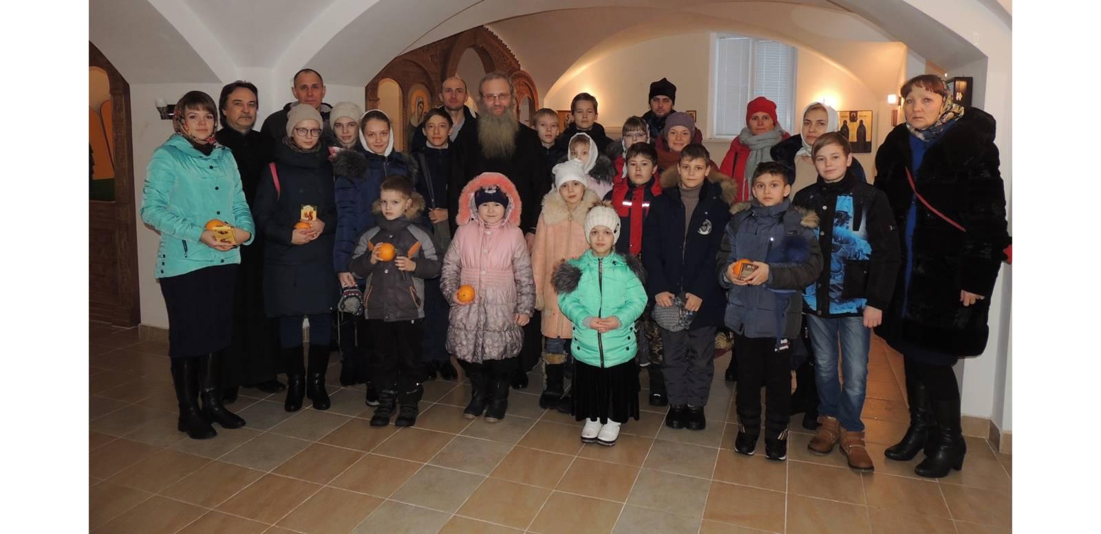 Поздравление епископа Урюпинского и Новоаннинского Елисея с Рождеством Христовым.