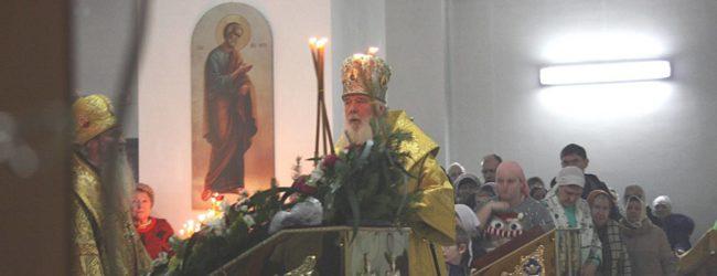 Престольный Праздник в храме святого праведного Иоанна Кронштадтского.