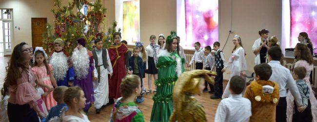 Рождественский концерт-поздравление в воскресной школе «Урюпинская Похвало».
