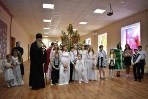 Рождественский концерт-поздравление в воскресной школе «Урюпинская Похвало»