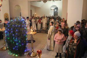 Ночное Рождественское богослужение
