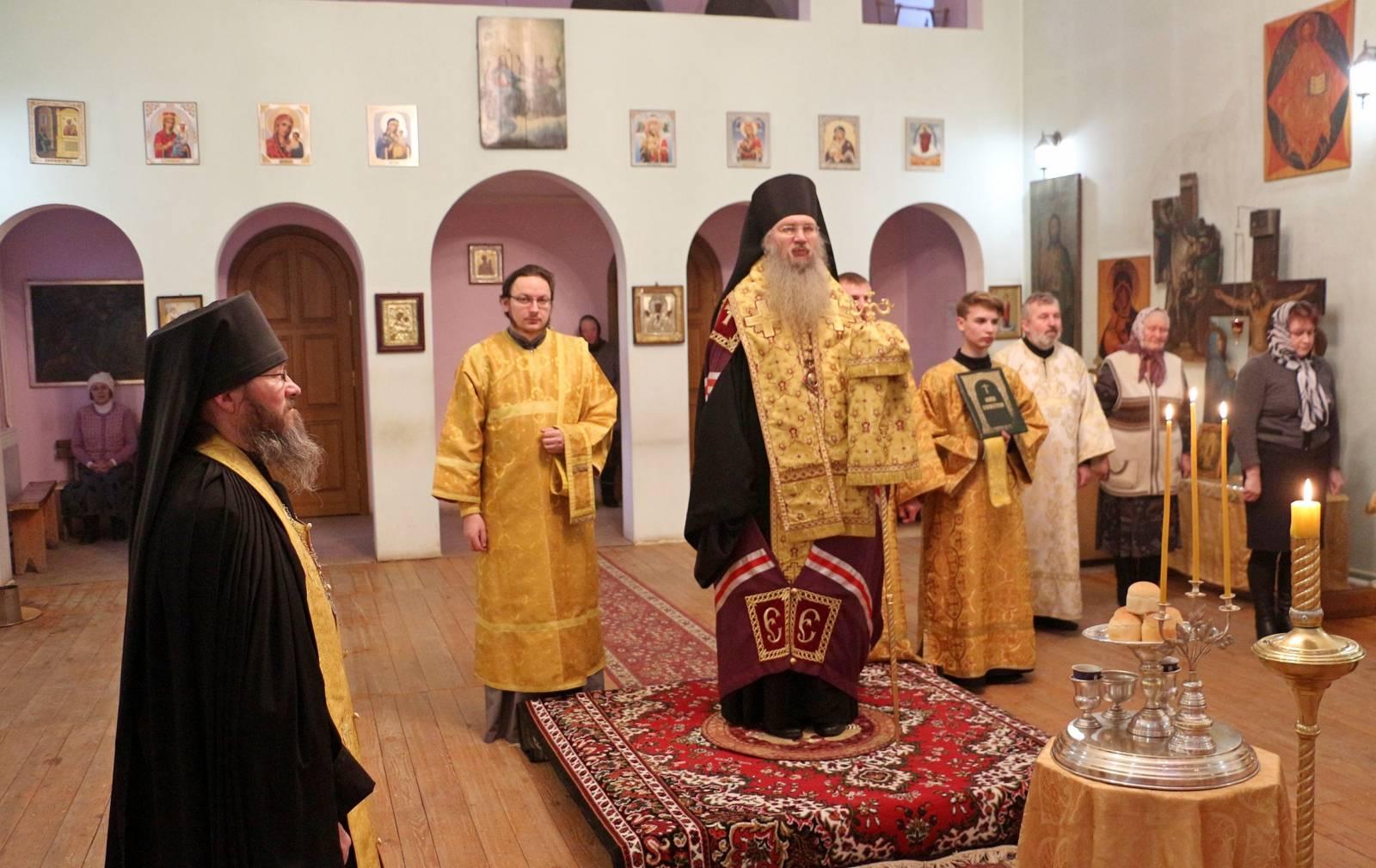 В канун  Дня памяти Собора новомучеников и исповедников Церкви Русской.