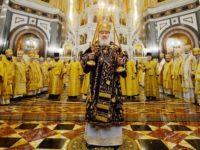 Праздничное богослужение в 10-ю годовщину интронизации Святейшего Патриарха Кирилла
