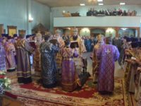 Открытие торжеств, посвящённых 100-летию мученического подвига Николая Попова. (Волгоград)