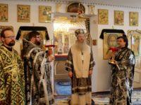 Литургия Преждеосвященных Даров в храме в честь апостола и евангелиста Иоанна Богослова ст. Нехаевской.