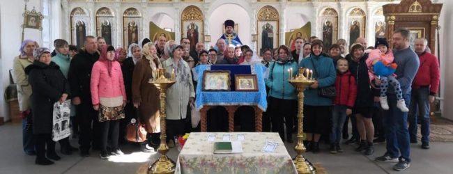 Праздник Благовещения Пресвятой Богородицы в хуторе Теркин, Серафимовичского района.