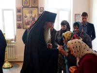 Епископ Елисей посетил дом милосердия «Виктория»