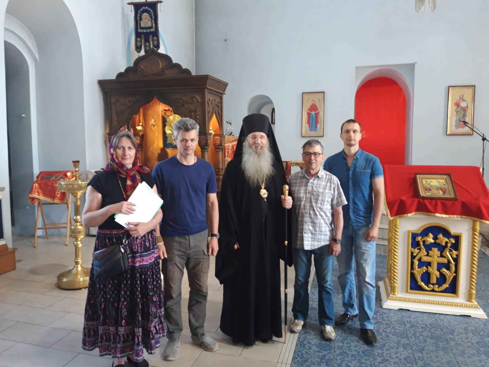 Епископ Елисей встретился с рабочей группой проектной организации АНО «ЭКОН».