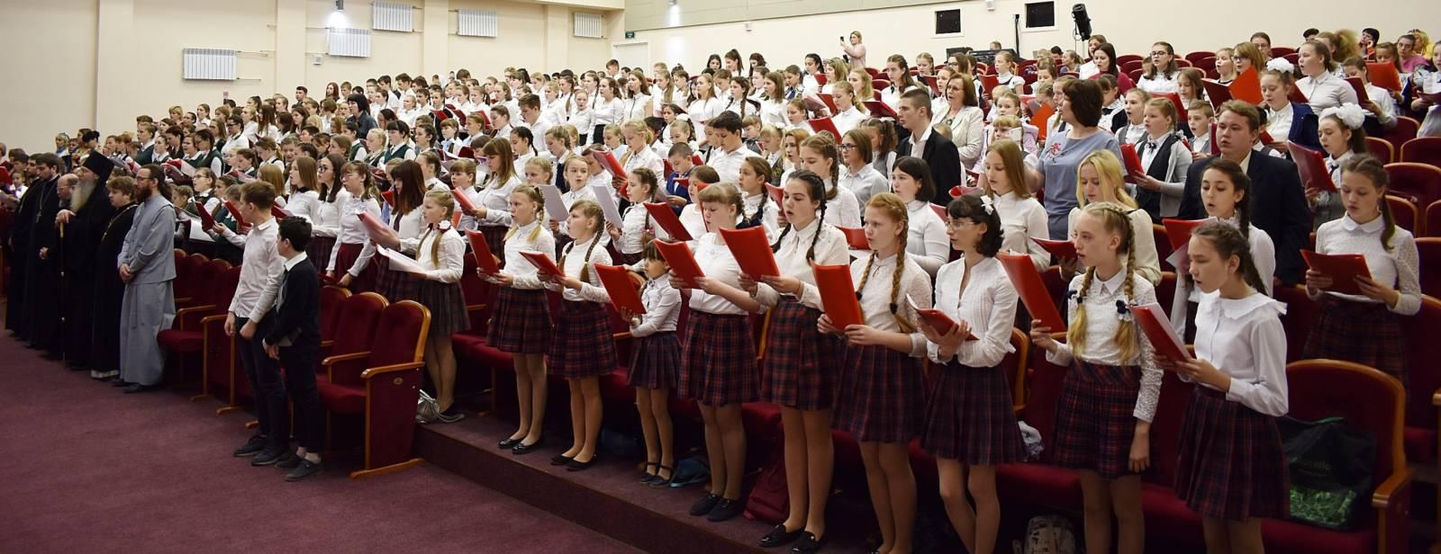 V открытый Пасхальный хоровой собор в ТКЦ «Юбилейный» г. Урюпинска.