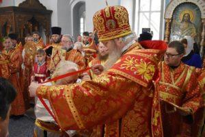 Награждение духовенства к Пасхе-2019