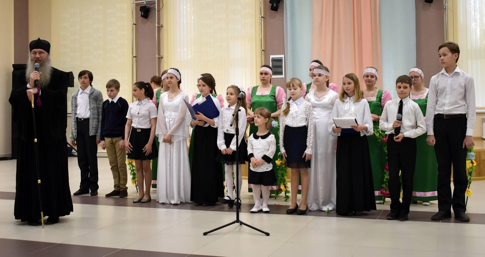 Пасхальный концерт в малом зале ТКЦ «Юбилейный» г. Урюпинска.