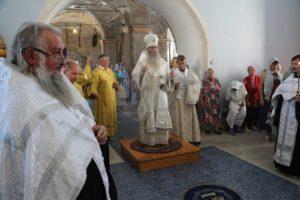 Канун празднования Вознесения Господня