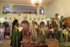 В канун Недели 8-й по Пасхе, Дня Святой Троицы