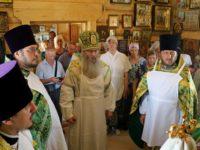 Освящение храма Покрова Пресвятой Богородицы, ст. Букановская