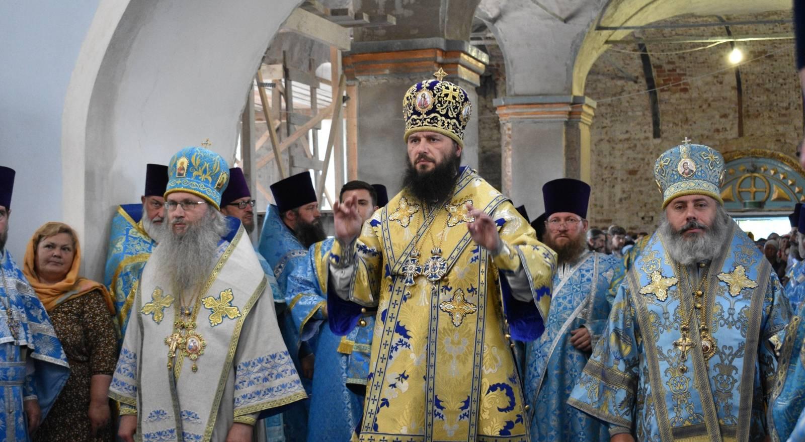В День Явления Урюпинской иконы Божией Матери.