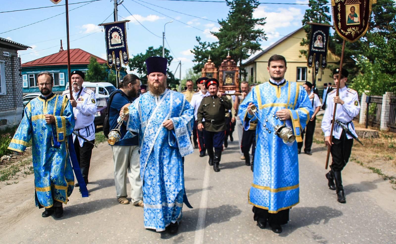 Общеепархиальное празднование явления Урюпинской иконы Божией Матери.